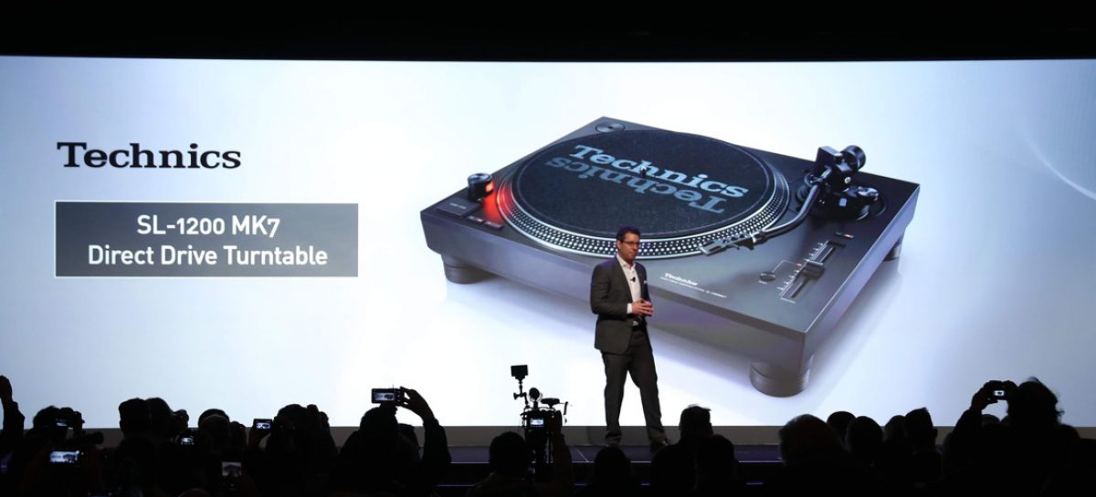 CES 2019: Panasonic devela la nueva tornamesa de motor directo SL-1200MK7