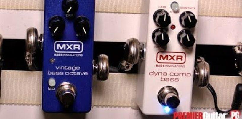 Ya está disponible el compresor MXR Dyna Comp Bass de Jim Dunlop
