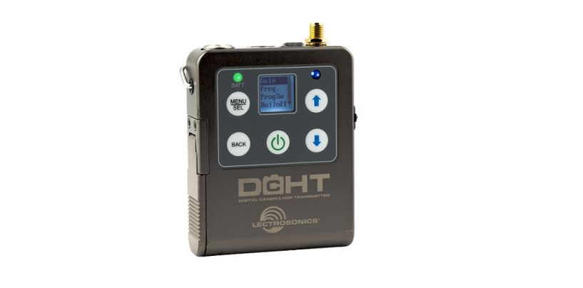 Lectrosonics presenta el transmisor estéreo digital portátil DCHT