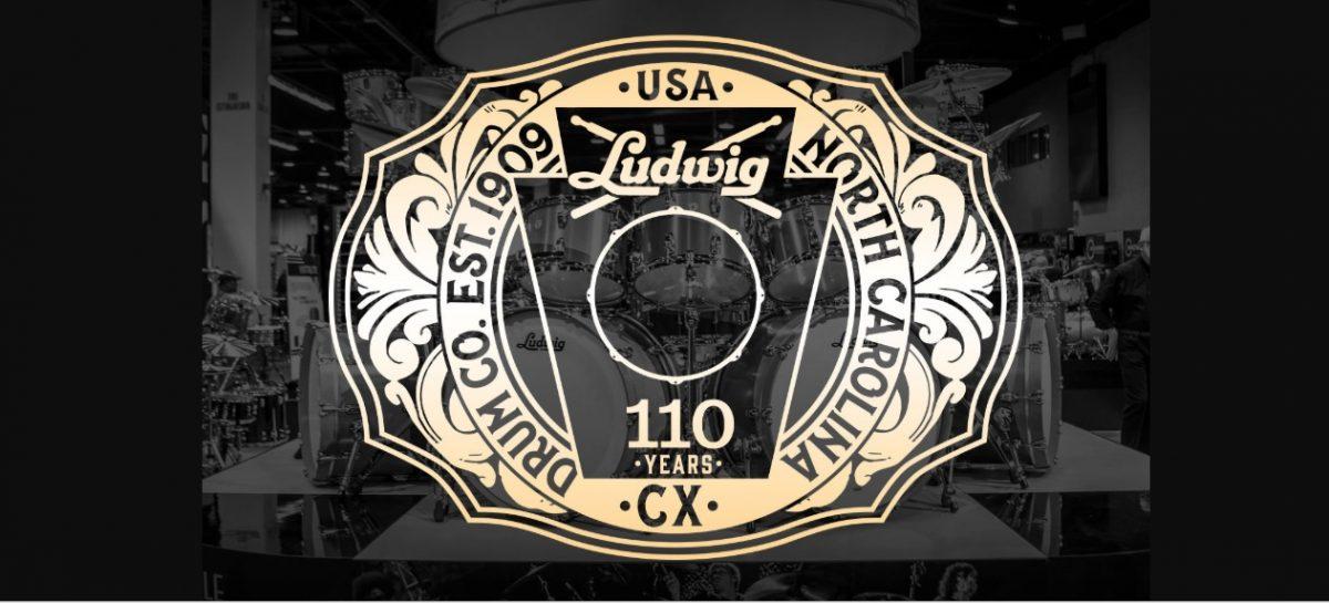 Ludwig Drums celebra su 110° aniversario
