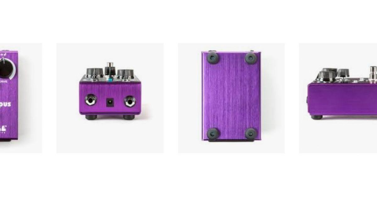 Nuevo pedal Way Huge Purple Platypus Octidrive de Dunlop