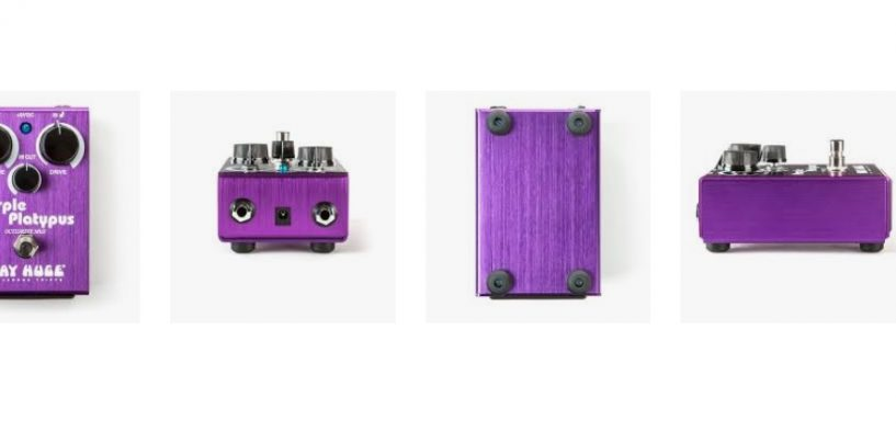 Nuevo pedal Way Huge Purple Platypus Octidrive de Dunlop