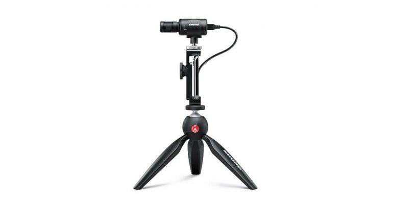 Shure lanzó el Kit de Video Mv88+