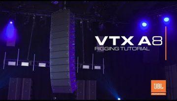 JBL presenta VTX A8, su nuevo altavoz line array