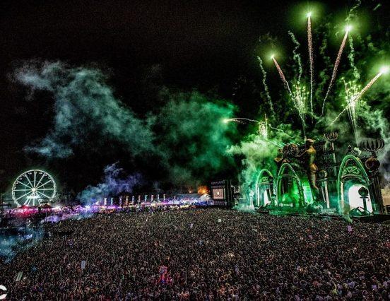 PK Sound de fiesta en el Electric Daisy Carnival Mexico 2019 de Insomniac