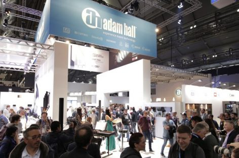 Adam Hall Group estará en la feria Prolight + Sound 2019