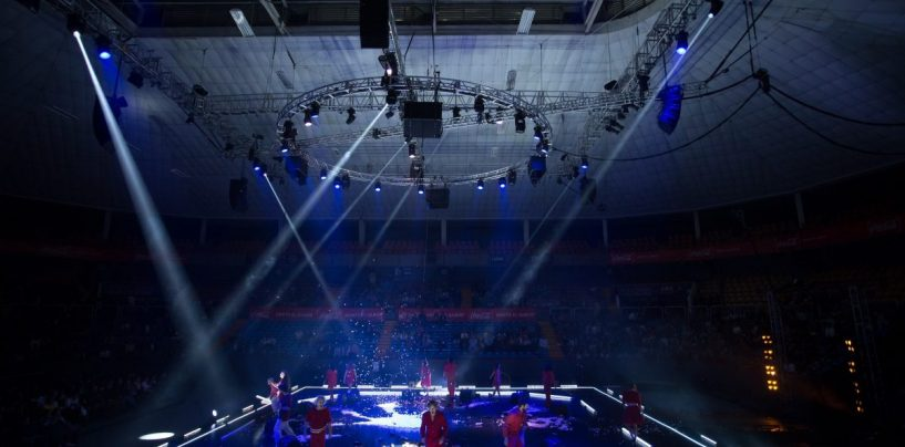 Elation lleva su luz al show interactivo Abrazos de México