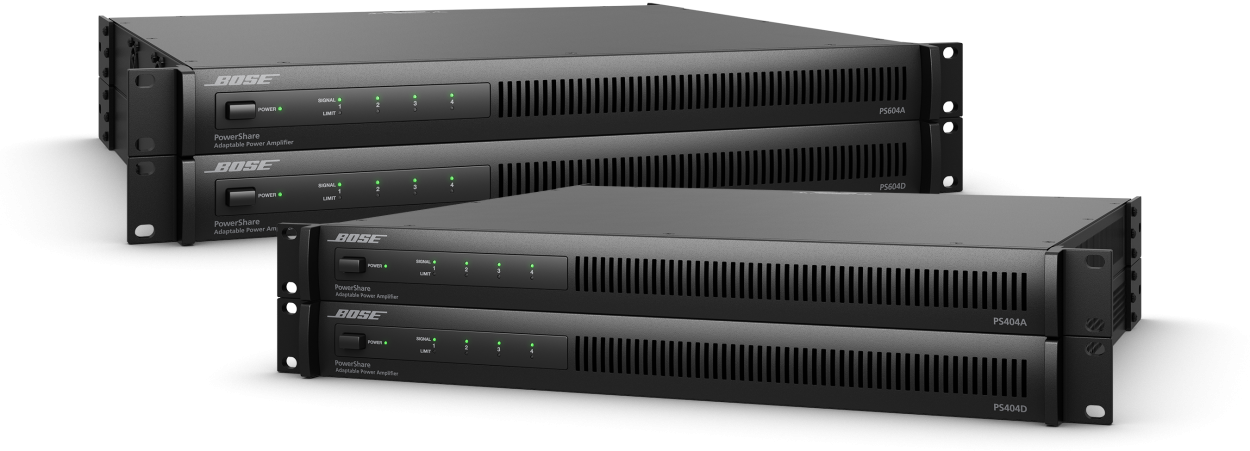 Bose Professional PowerShare Dante Amps