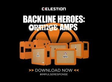 Celestion presenta los nuevos Impulse Responses de Orange Amps