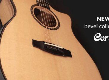 Cort presenta las guitarras acústicas de la Bevel Cut Collection