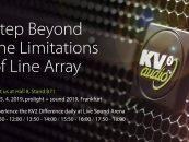 KV2 Audio lanza ESD Cube en Prolight + Sound 2019