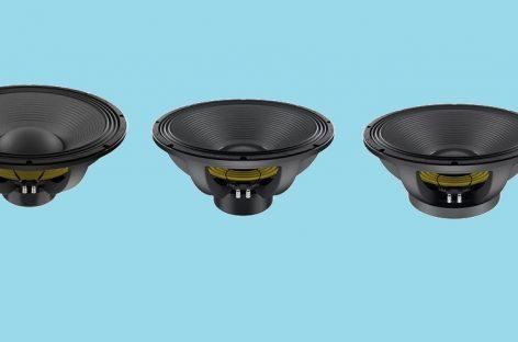 Lavoce presenta sus nuevos subwoofers SAF184.50, SAN184.50 y SAN215.30