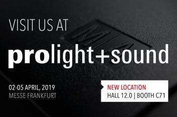 MA Lighting estará presente en Prolight + Sound 2019
