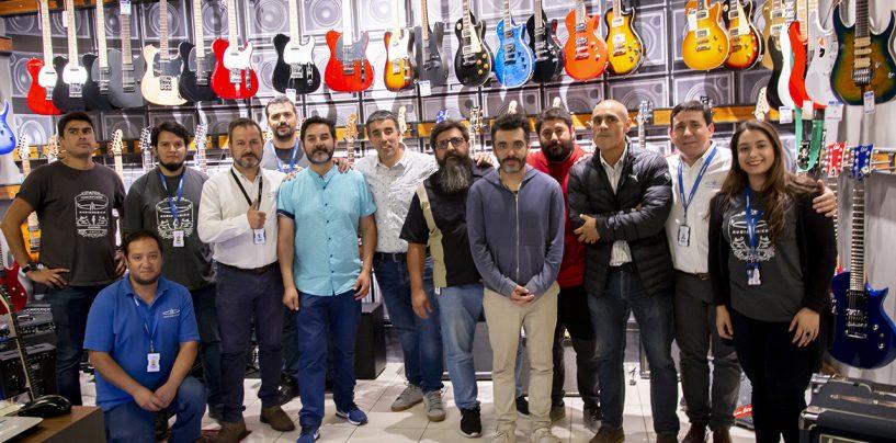 Audiomusica reinaugura su tienda de Barros Arana