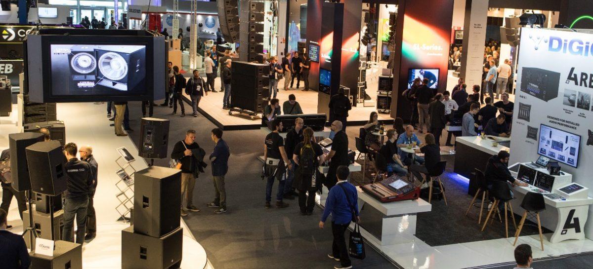 Las marcas y los nuevos programas destacados en Prolight + Sound y Musikmesse 2019