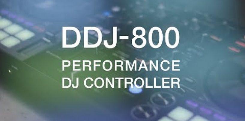 Conociendo el controlador DJ portátil DDJ-800 de Pioneer DJ
