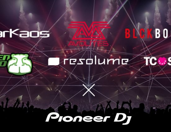 Avolites en colaboración con PRO DJ LINK de Pioneer DJ