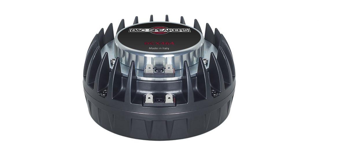 Prolight + Sound 2019: B&C presenta el driver de compresión coaxial DCX464