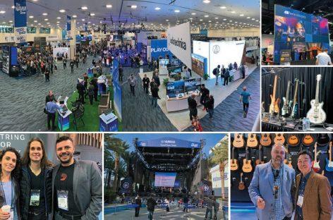 Energía positiva y renovada en NAMM Show 2019