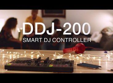 Pioneer DJ presenta el controlador DJ inteligente DDJ-200