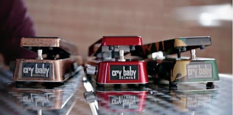 El pedal Jerry Cantrell Cry Baby Wah de Dunlop, se renueva