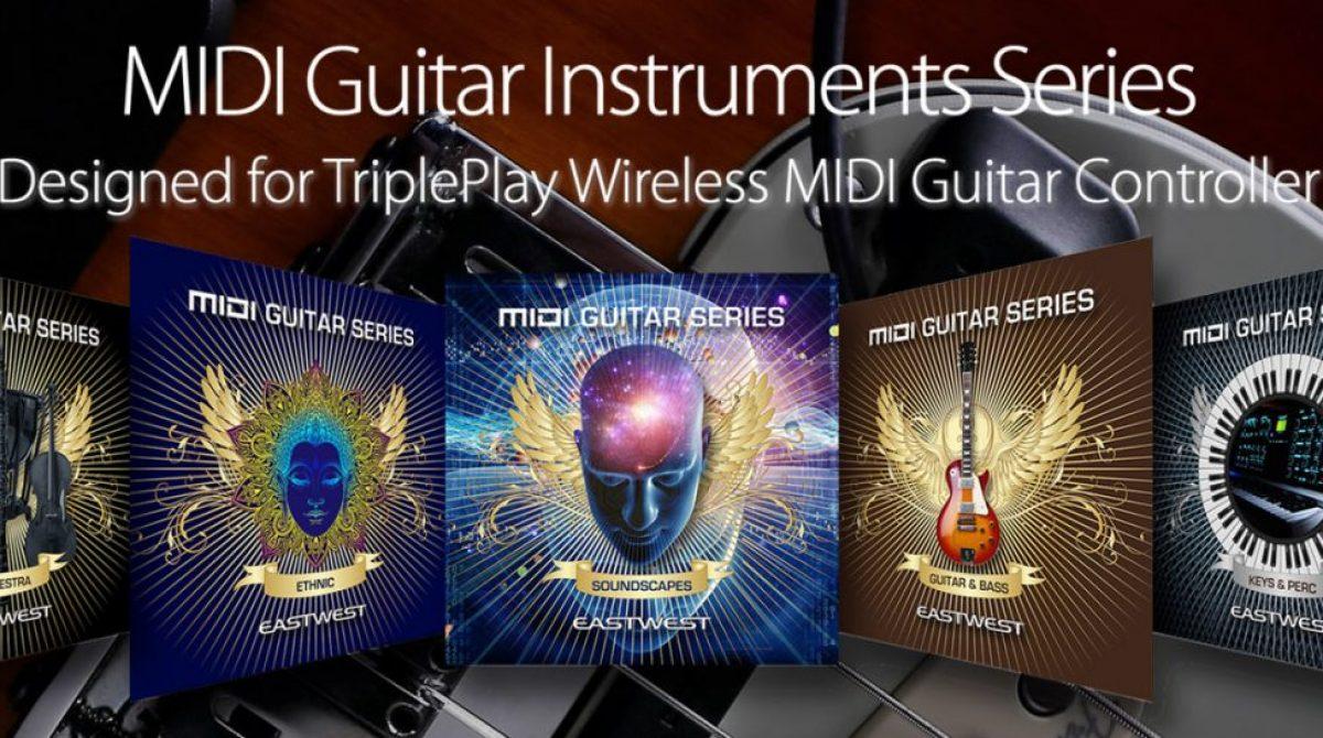 Fishman anuncia la disponibilidad de MIDI Guitar Instruments para TriplePlay