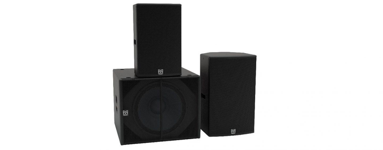 Nueva gama BlacklineX Powered de recintos portátiles, de Martin Audio