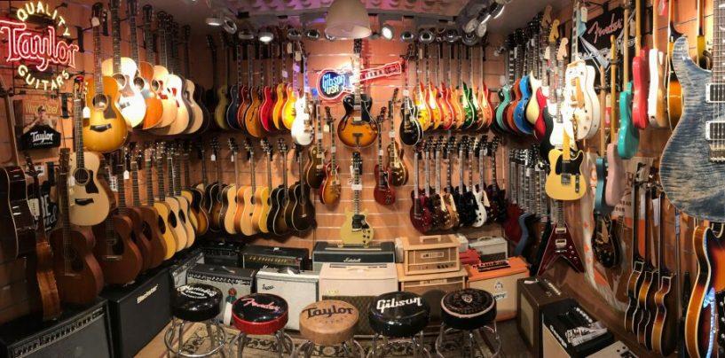 Tube Sound de especializa en guitarras y bajos desde Barcelona
