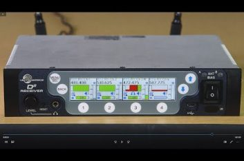 Lectrosonics presenta D Squared, un sistema de micrófono inalámbrico digital