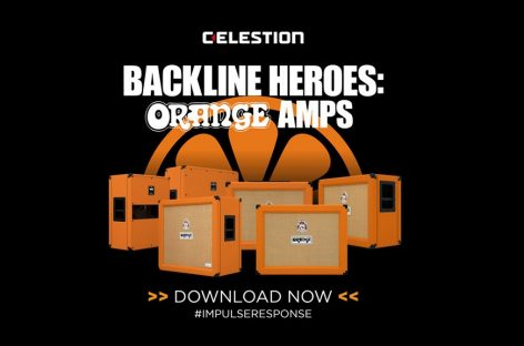 Celestion presenta Orange Cabinet Impulse Responses