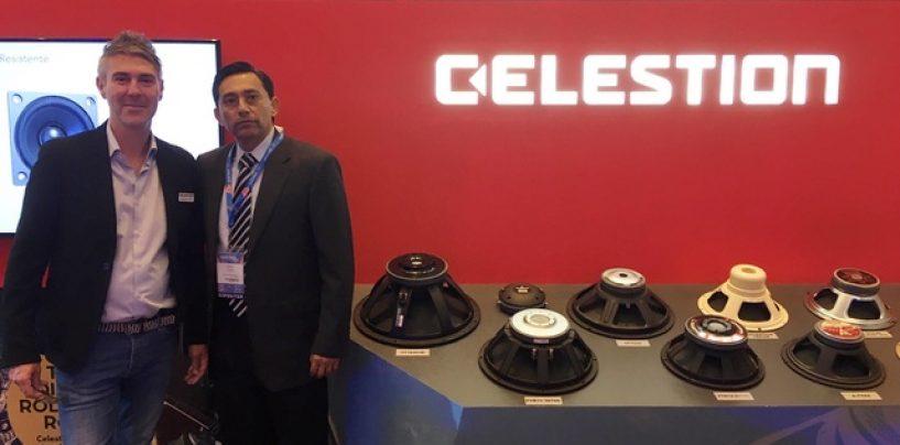 Sensey Electronics es el nuevo distribuidor en México de Celestion