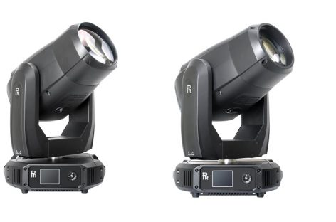 Nuevas luminarias XR 580 BWS y XR 580 Beam de PR Lighting