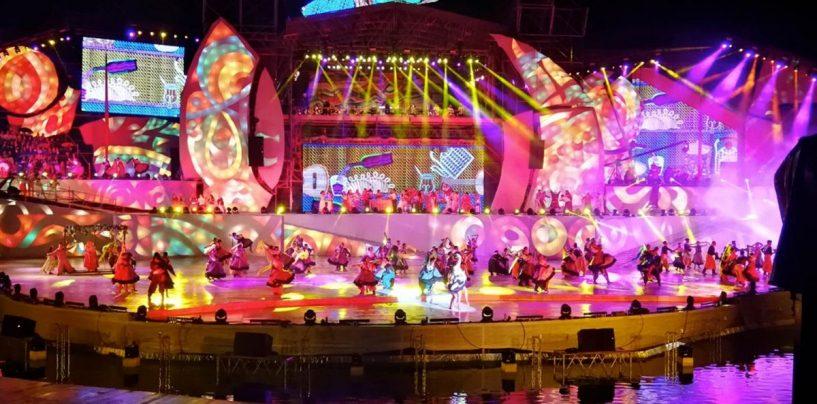 El Festival Nacional de la Vendimia de Argentina se sonorizó con Clair Brothers