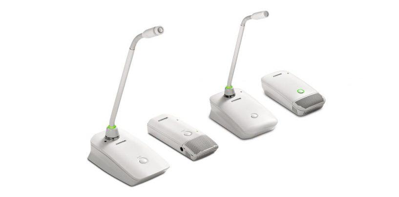 Shure lanza transmisores inalámbricos digitales Microflex Wireless MXW y ULX-D en color blanco