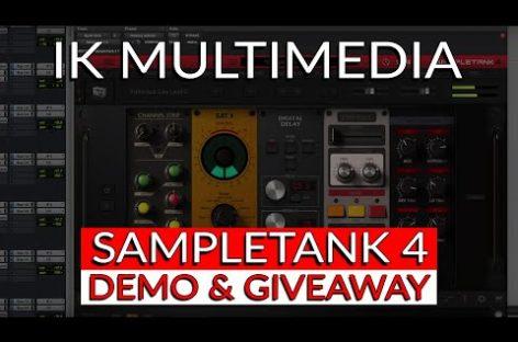 IK Multimedia presenta la actualización 4.0.5 de SampleTank