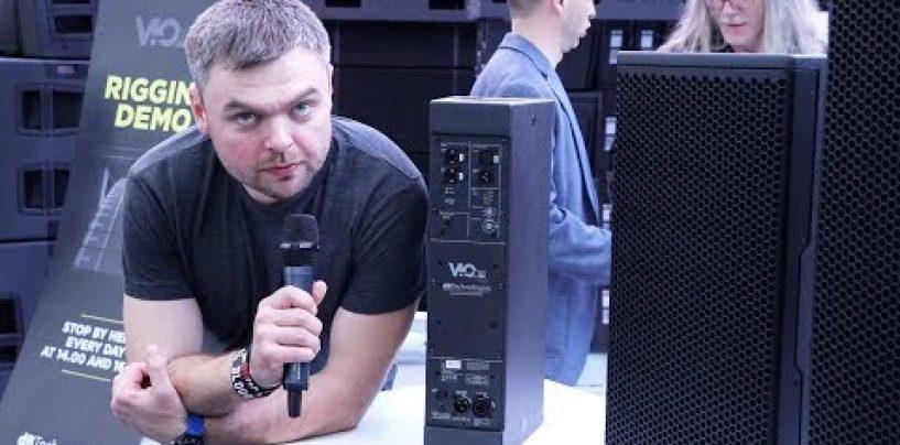 El altavoz activo VIO X205 de dbTechnologies ya está disponible