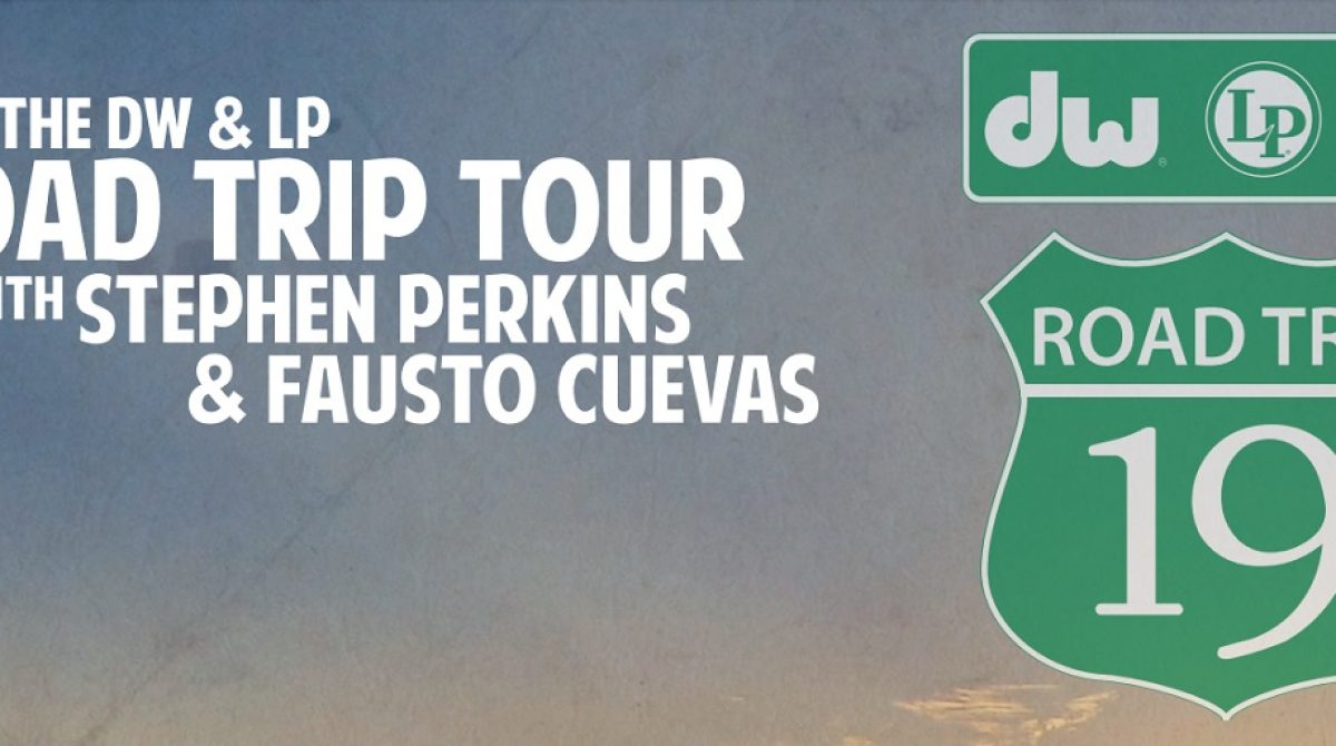 """Fausto Cuevas y Stephen Perkins listos para el """"DW & LP Road Trip Tour"""""""