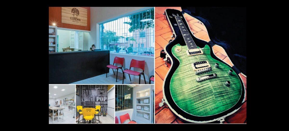 O Mundo das Cordas y Métis Custom Guitars unen fabricación, servicios y venta