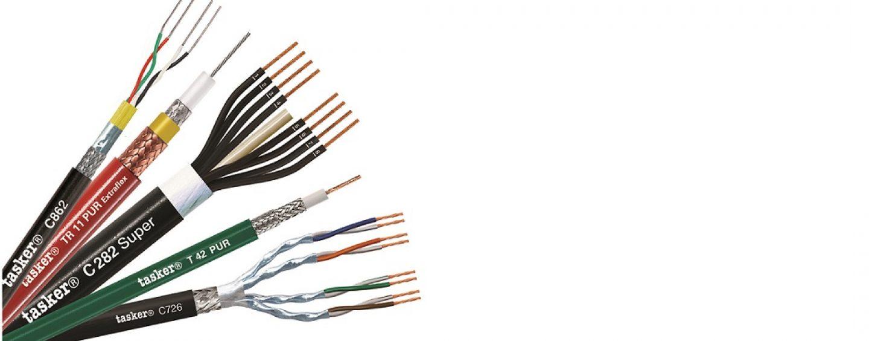 Tasker presenta sus cables para eventos en vivo