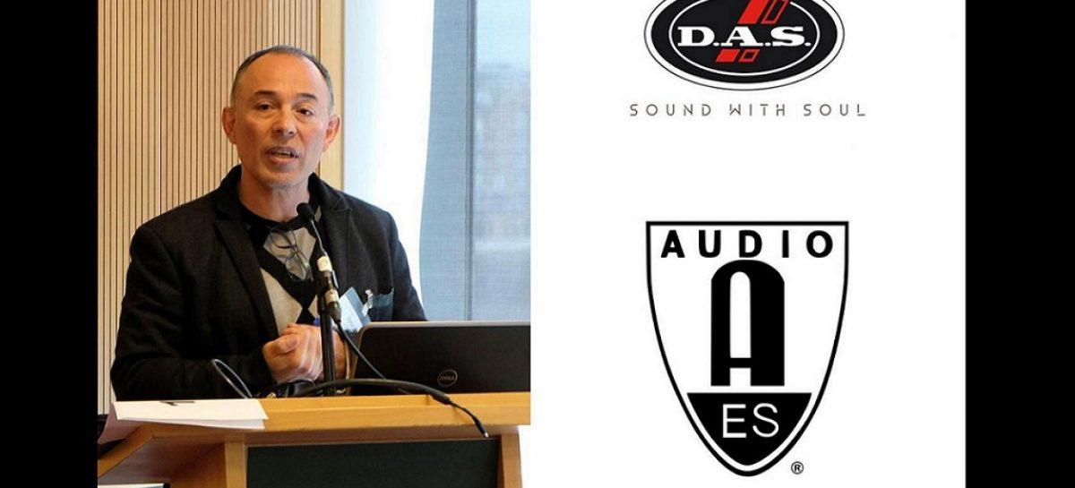 """DAS presentó """"DSP Loudspeaker 3D Complex Correction"""" en AES 2019"""