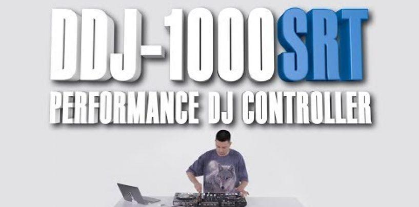 Pioneer DJ presenta el controlador DDJ-1000SRT para Serato