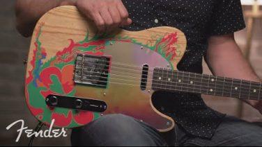 Fender presenta la Jimmy Page Telecaster