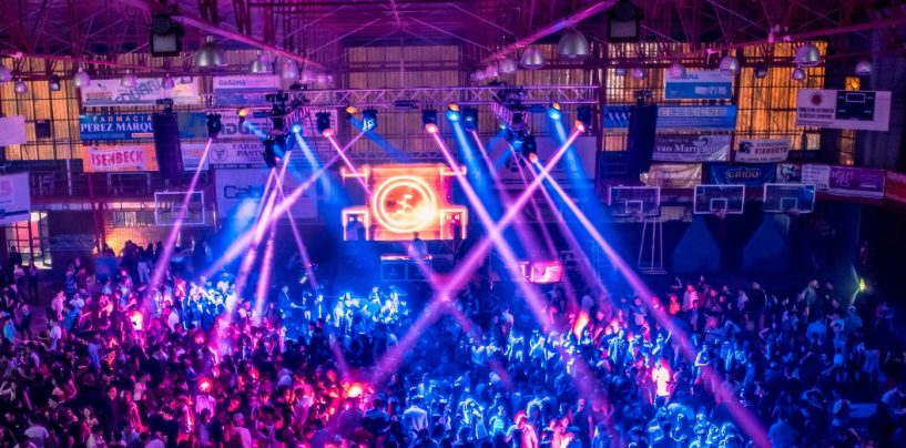 PR Lighting ilumina la fiesta 'Friendship' en Zarate
