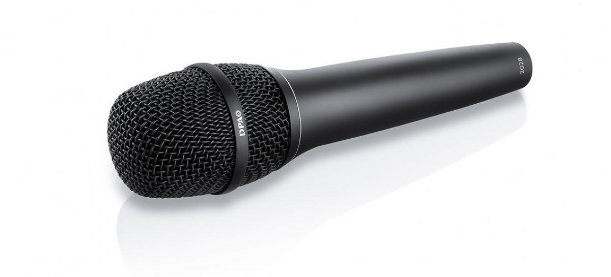 El nuevo micrófono vocal 2028 de DPA ha sido diseñado y construido para giras