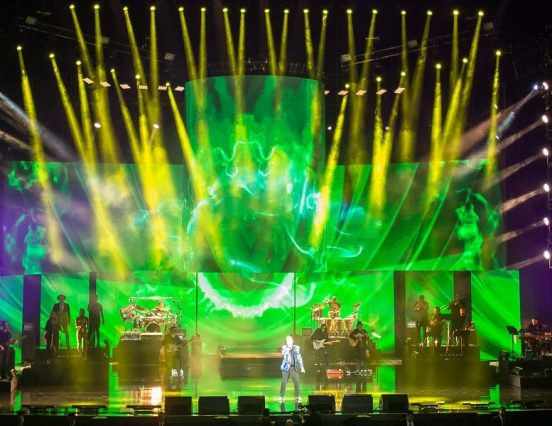 Elation en la reciente gira de los cantantes mexicanos Emmanuel y Mijares