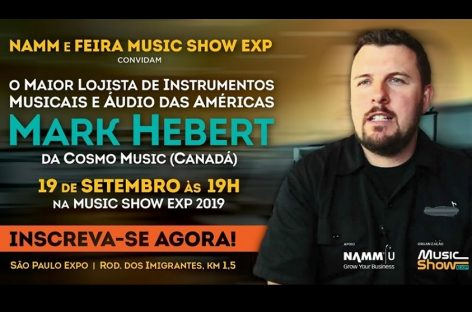 ¡Mark Herbert estará en Music Show 2019!