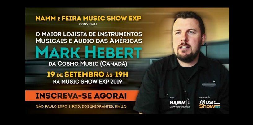 ¡Mark Herbert estará en Music Show 2019!