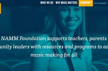 La NAMM Foundation otorga subvenciones a 28 programas de creación musical