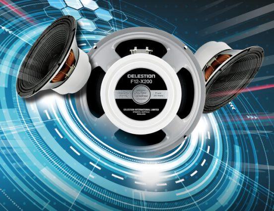Celestion anuncia la disponibilidad del altavoz de guitarra F12-X200