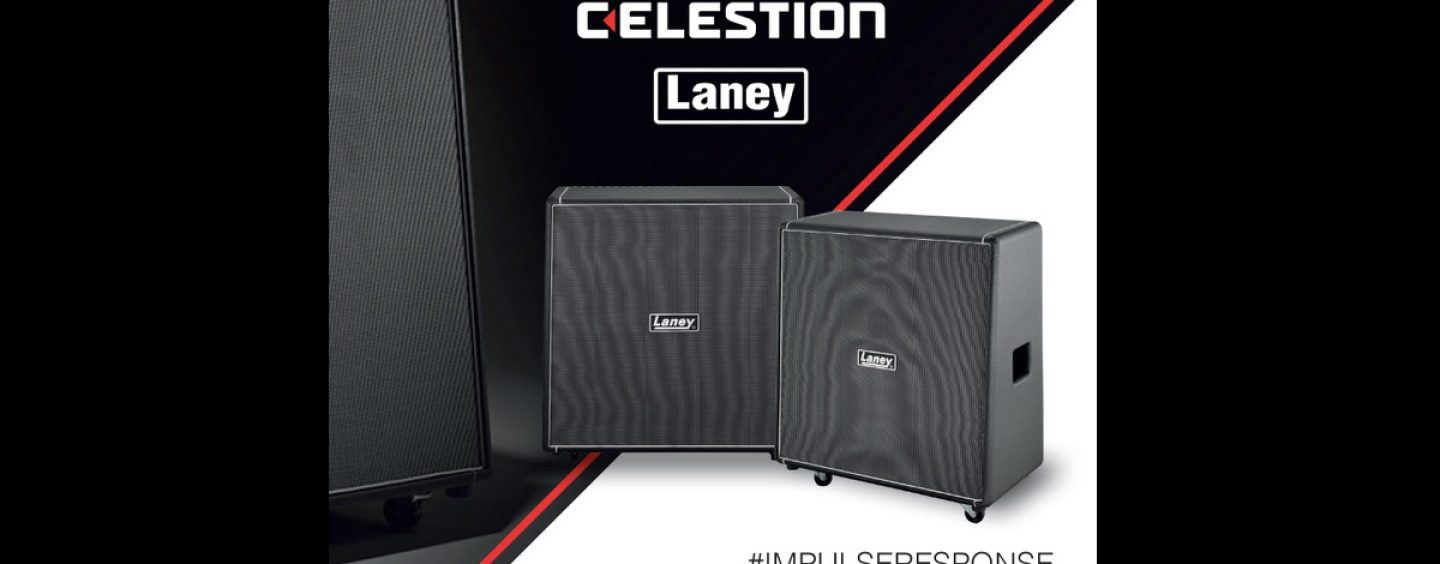Celestion presenta la Laney Cabinets Collection de Impulse Responses